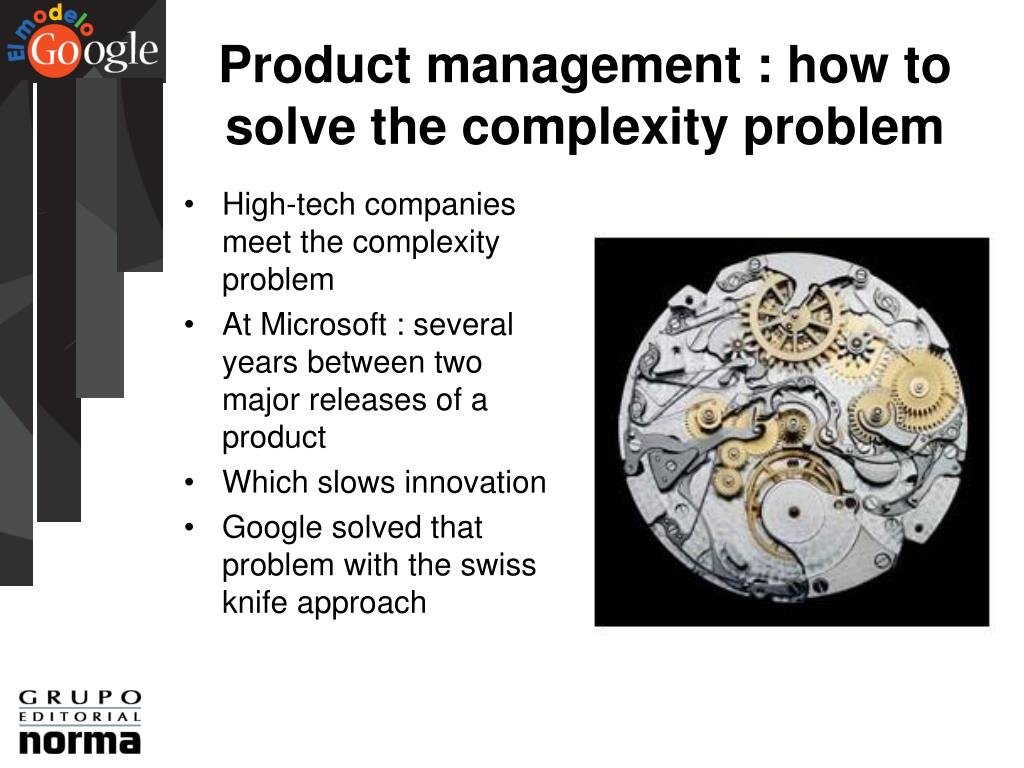 Product management : how to solve the complexity problem