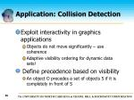 application collision detection96