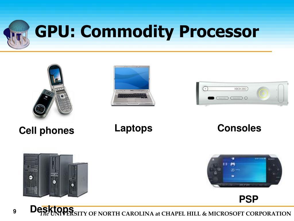 GPU: Commodity Processor