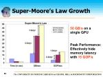 super moore s law growth