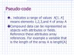 pseudo code14