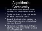 algorithmic complexity41