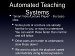 automated teaching systems65