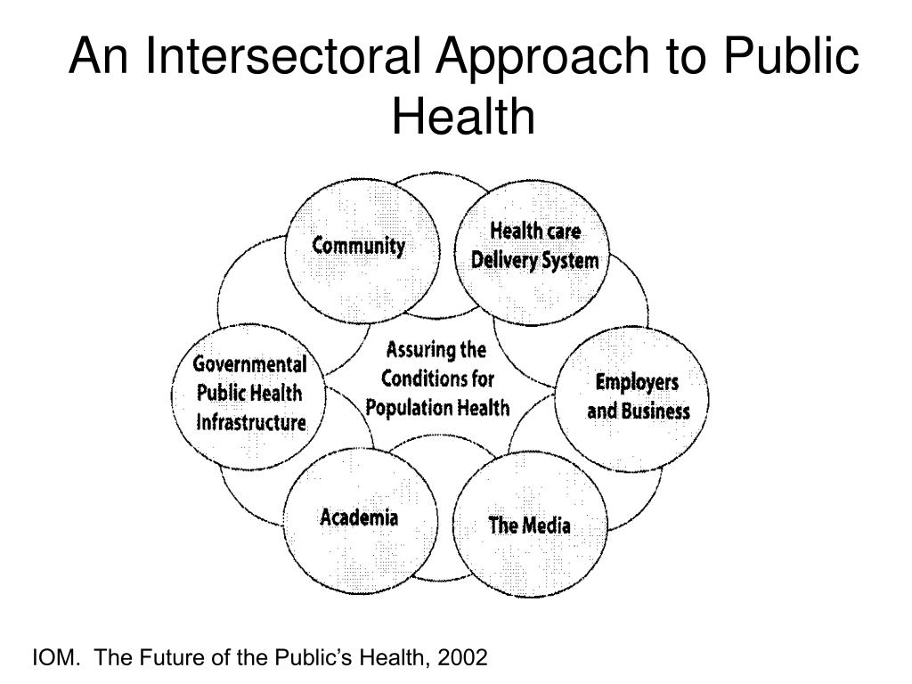 An Intersectoral Approach to Public Health