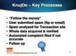 knujon key processes