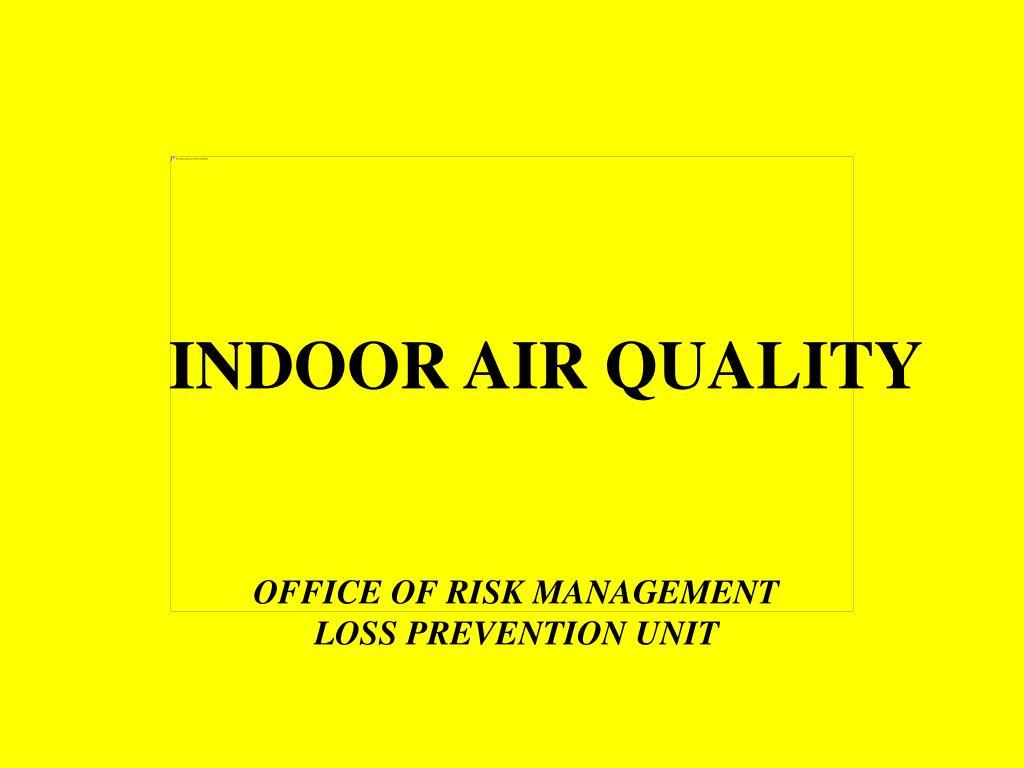 indoor air quality l.