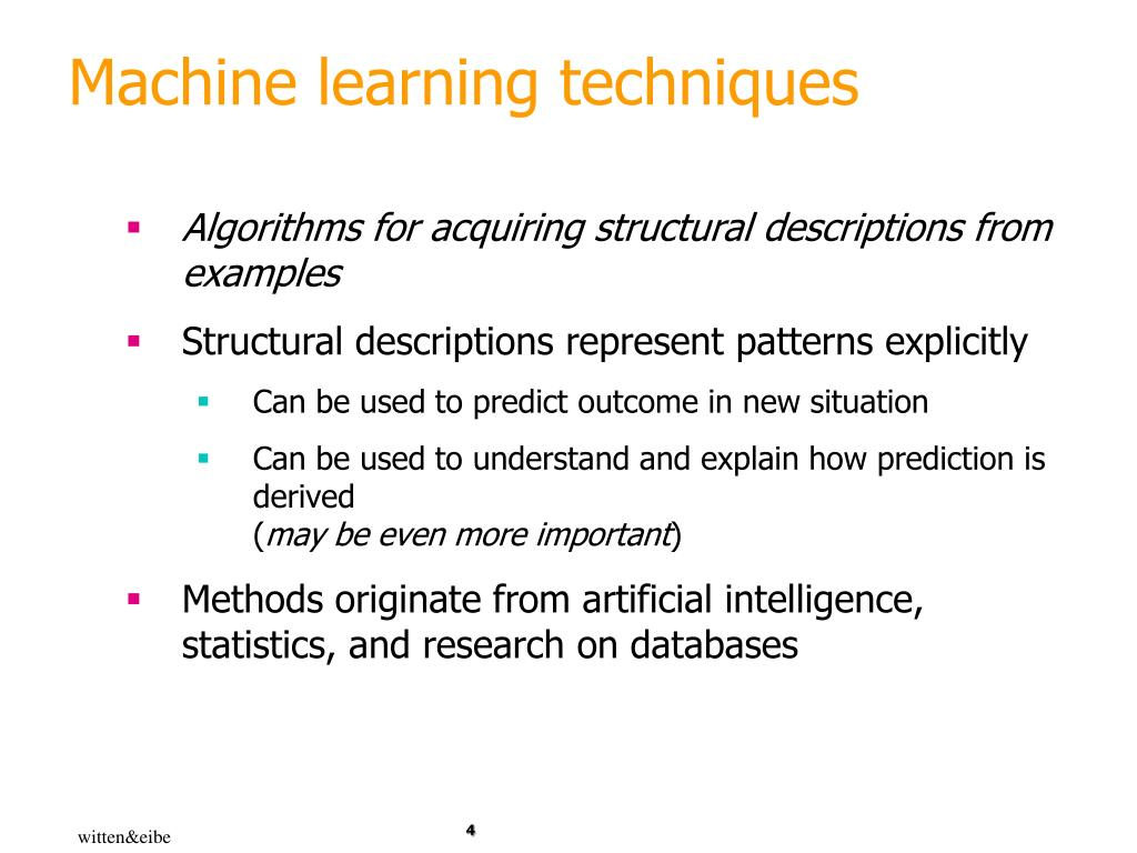 PPT - Machine Learning: finding patterns PowerPoint