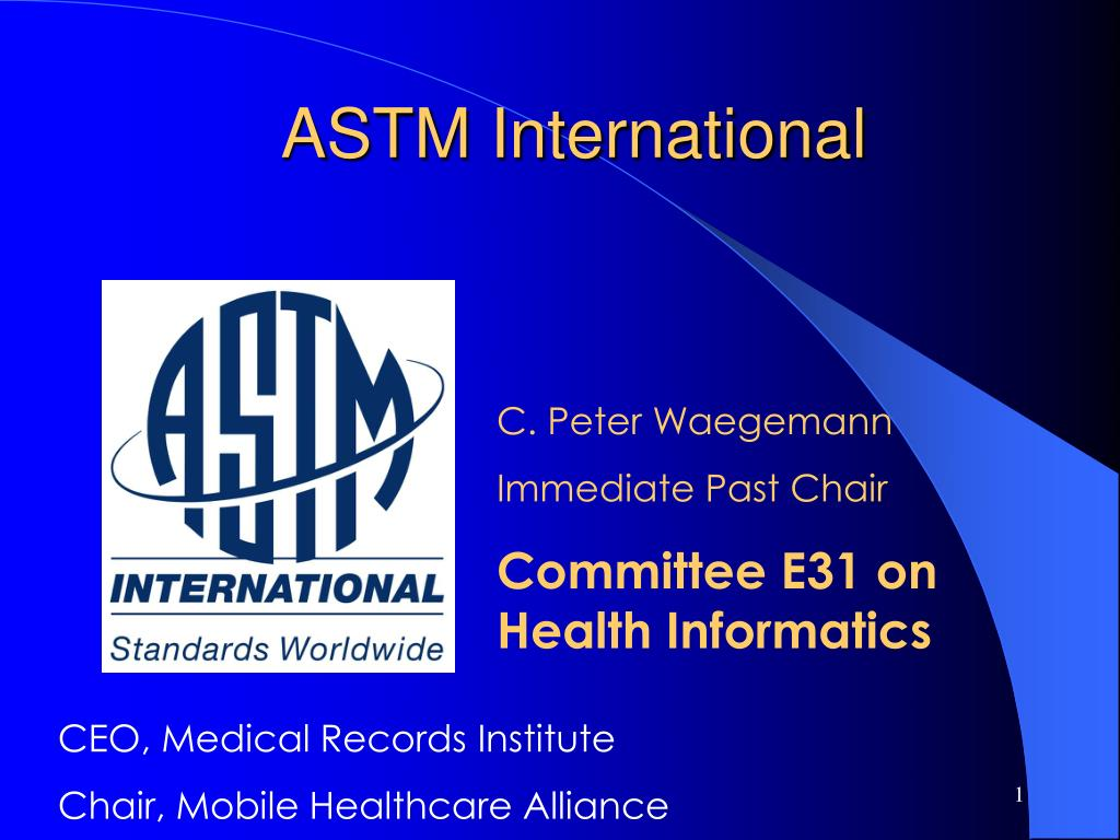 astm international standards worldwide