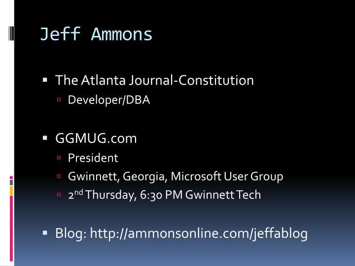 Jeff ammons