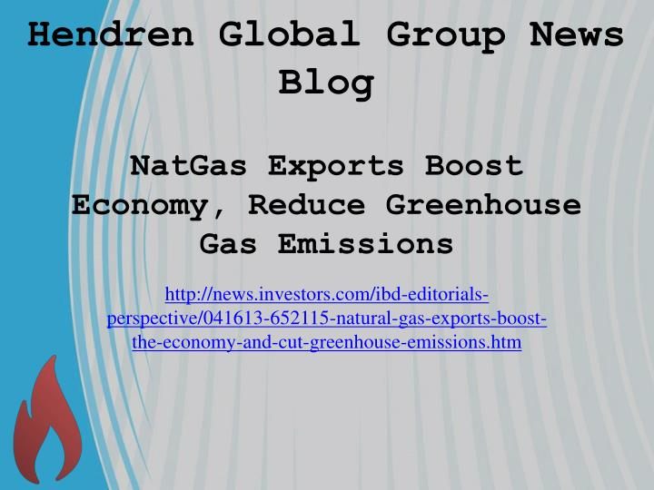 natgas exports boost economy reduce greenhouse gas emissions n.