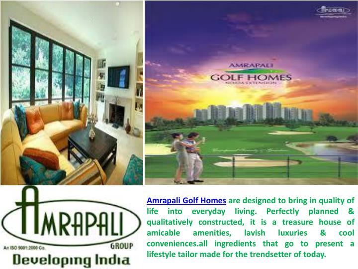 Amrapali Golf Homes