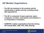 iaf member organizations