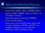 molecular modeling programs