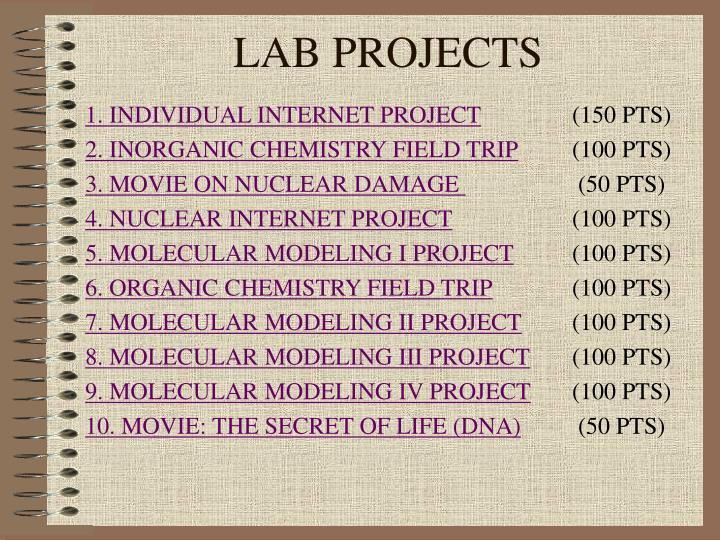 Lab projects