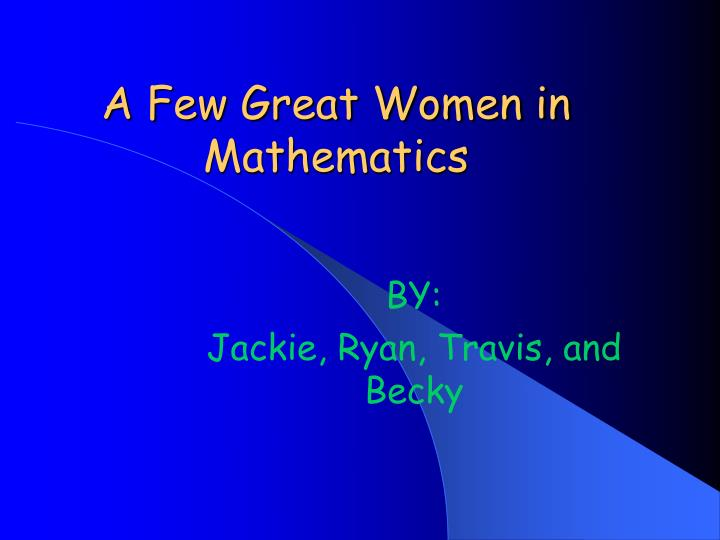 association women mathematics essay contest National contests arml power contest the american regions mathematics league (arml) offers a two test power contest to be worked.