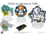cuda acceleration in vmd