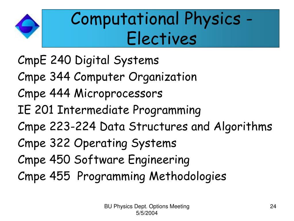 computational thesis