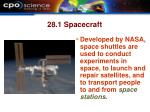 28 1 spacecraft29