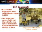 28 1 spacecraft31