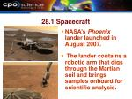 28 1 spacecraft32