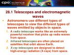 28 1 telescopes and electromagnetic waves