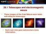 28 1 telescopes and electromagnetic waves21