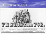 the liberator 1831
