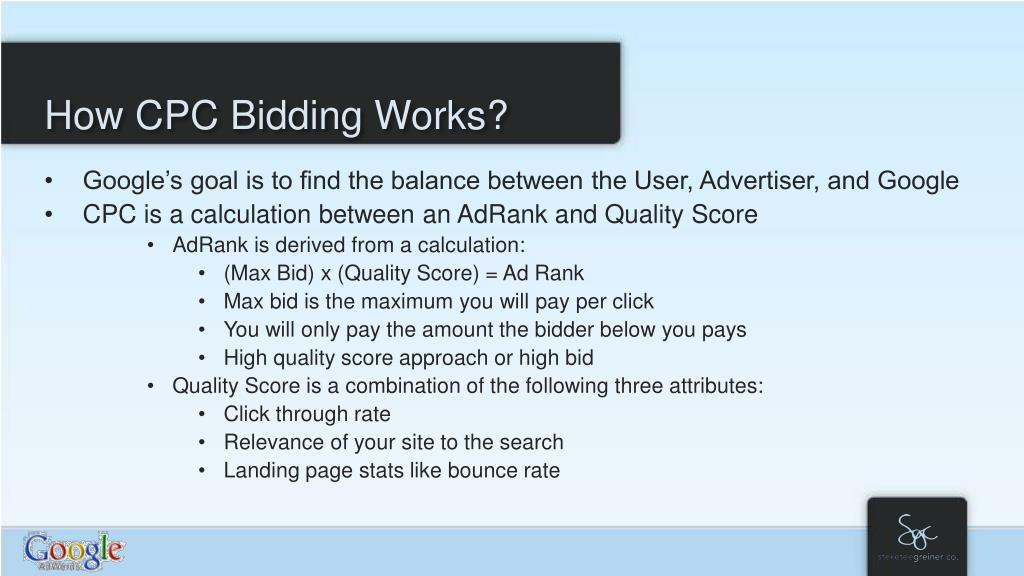 How CPC Bidding Works?