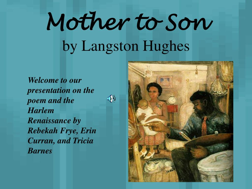 analysis mother to son by langston hughes