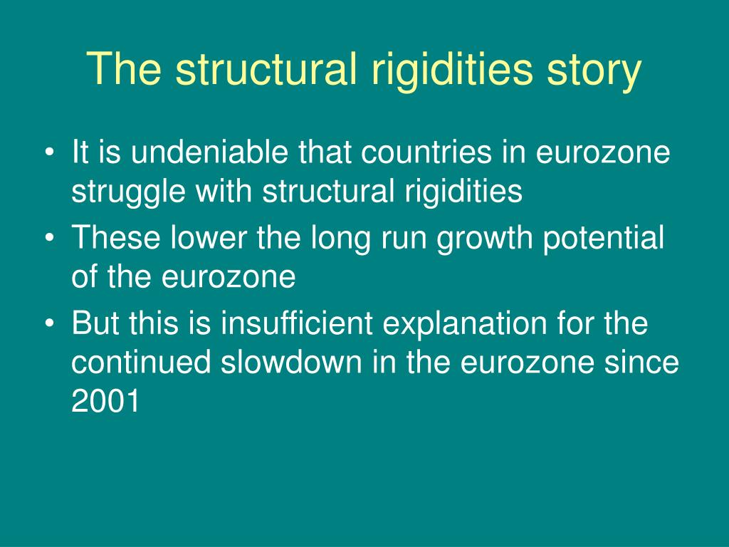 The structural rigidities story