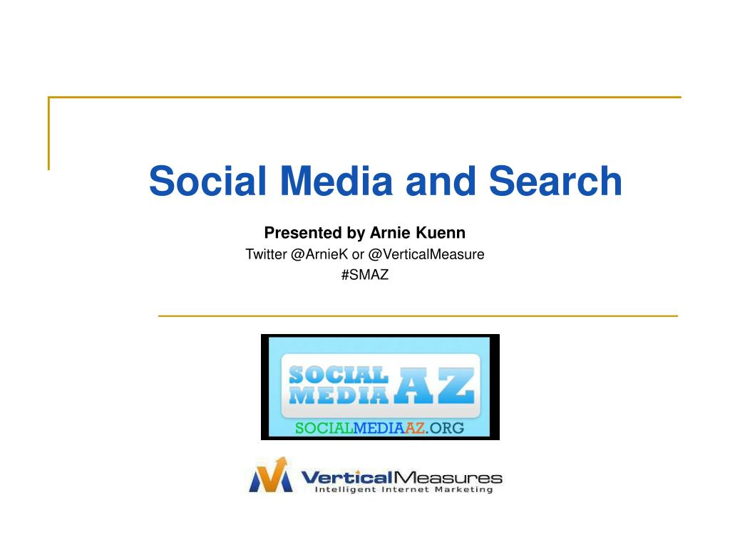 social media and search l.