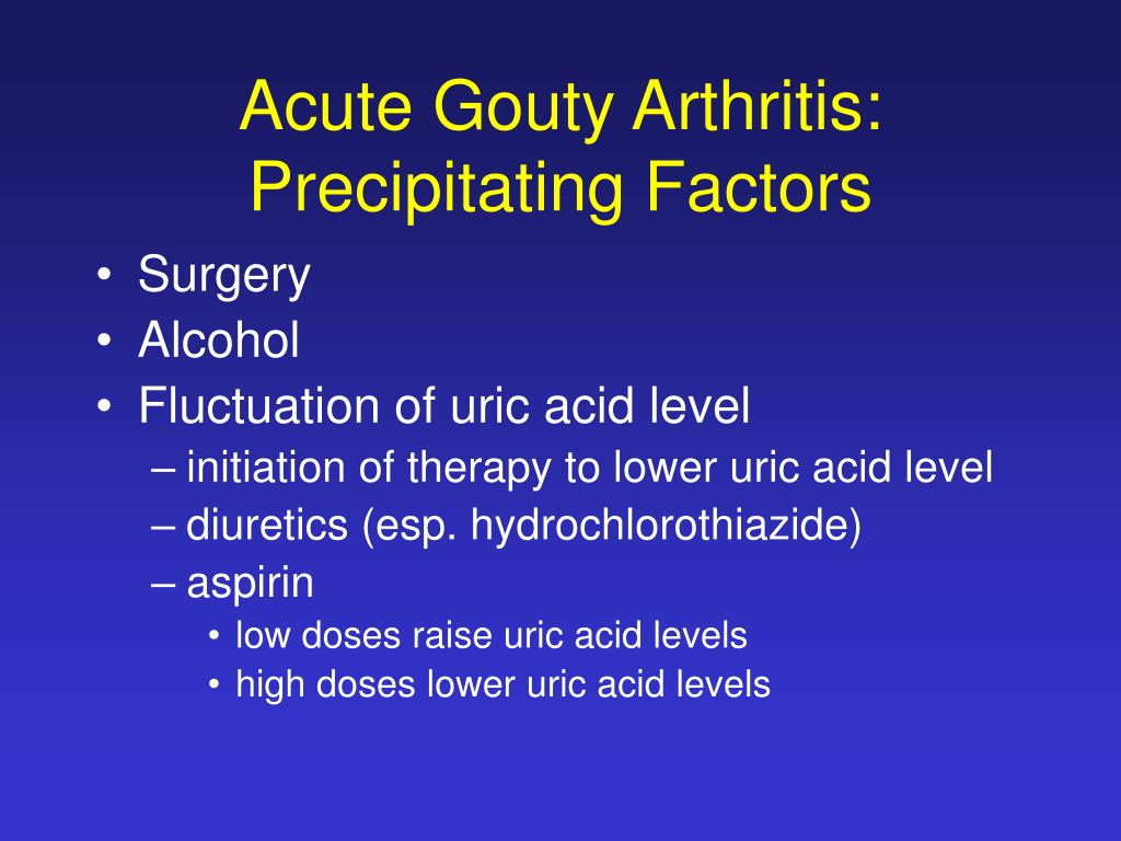 PPT - Crystal-induced Arthropathy: Gout and Pseudogout