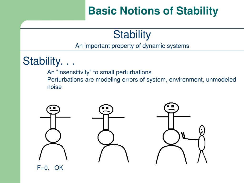 what does stability mean in science