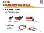 sata assembly properties34