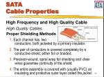 sata cable properties30