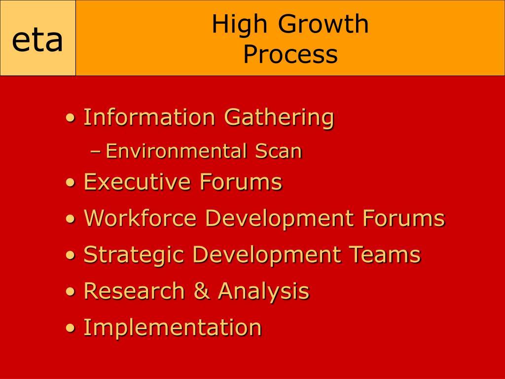High Growth