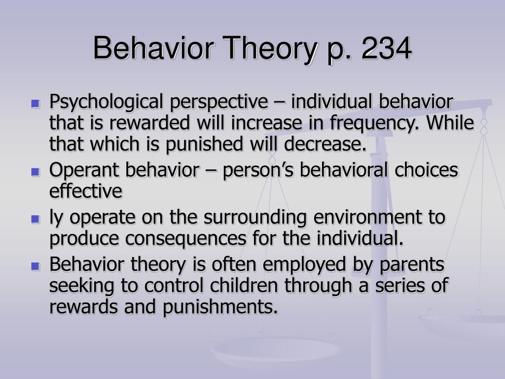 behavourist theory of sla