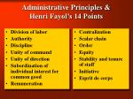 administrative principles henri fayol s 14 points