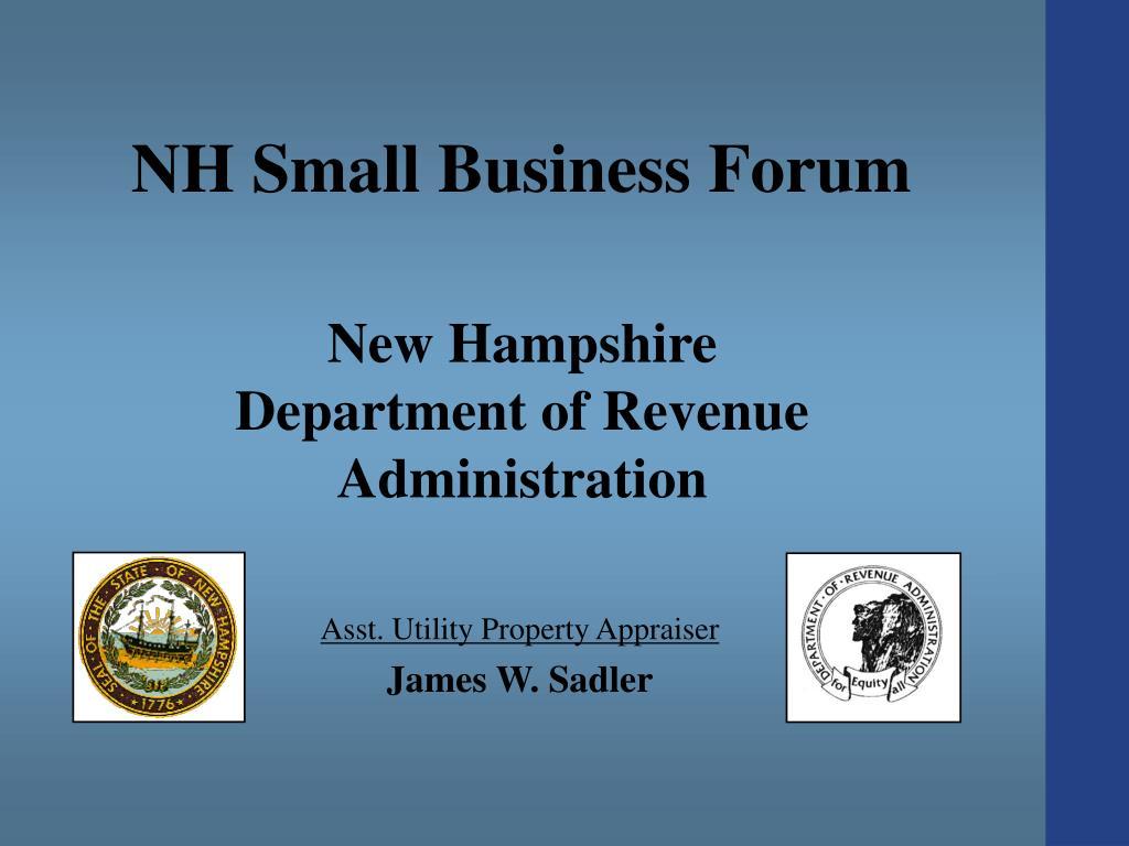new hampshire department of revenue administration l.