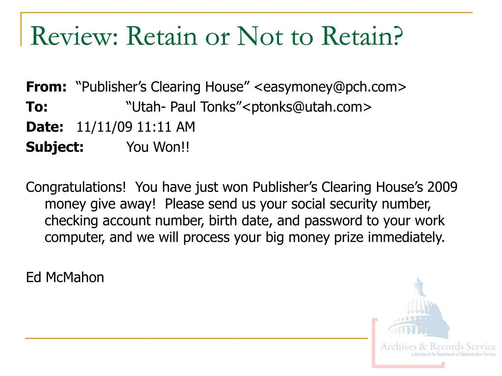 Review: Retain or Not to Retain?
