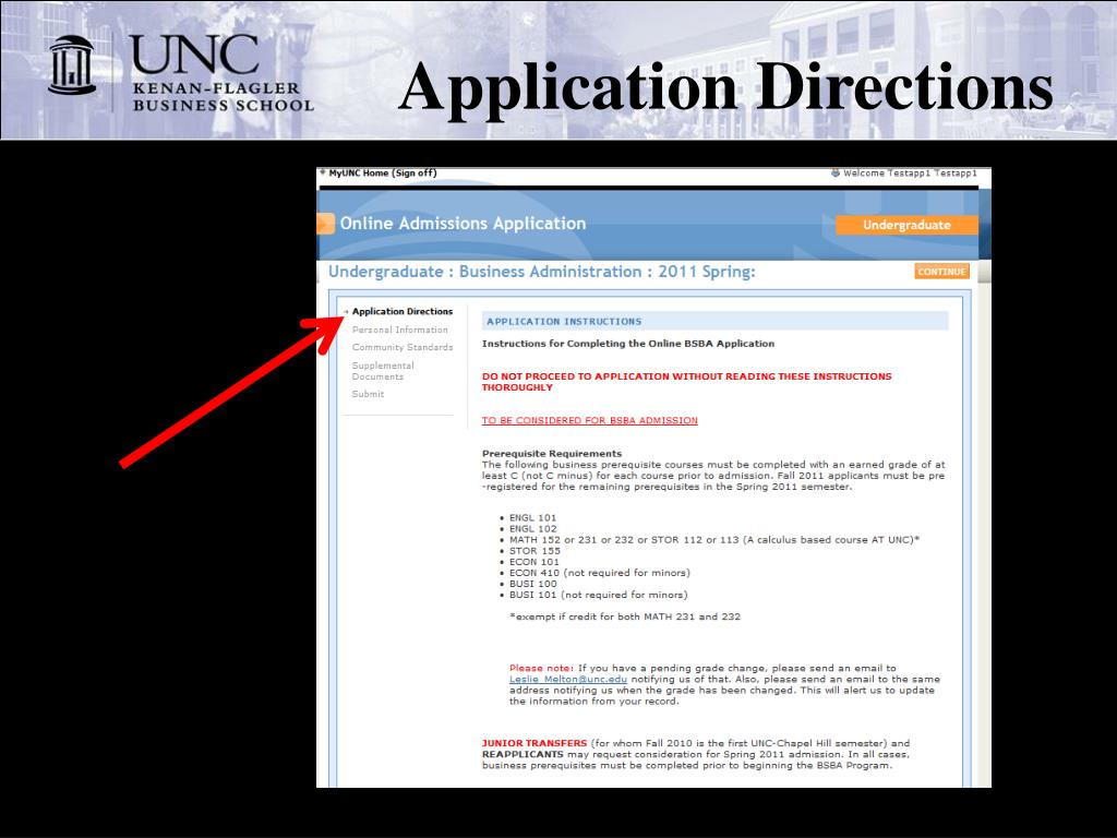 Application Directions