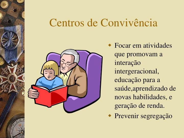 Centros de Convivência