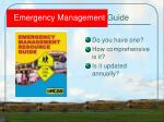 emergency management guide