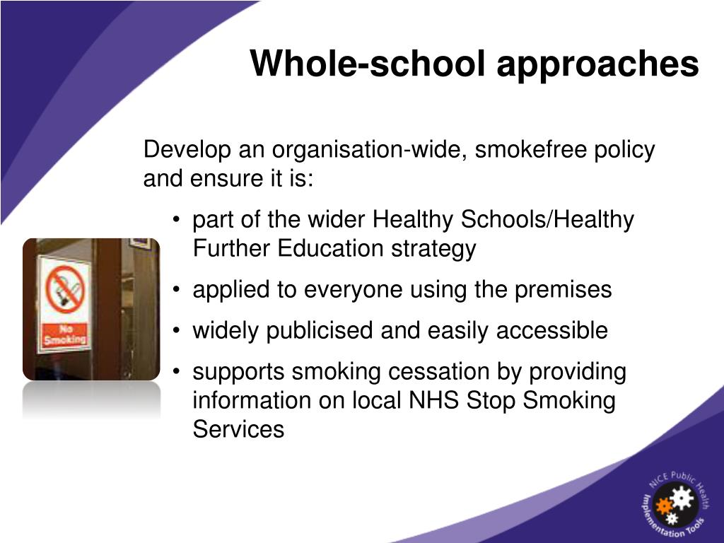 Whole-school approaches