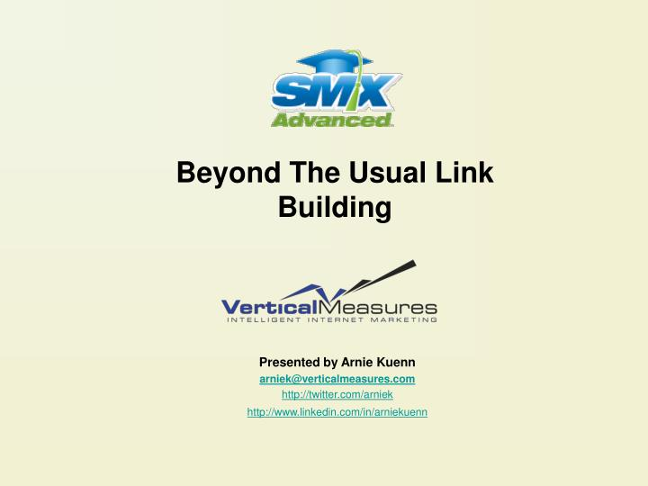 beyond the usual link building n.