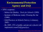 environmental protection agency and iaq