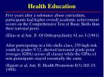 health education22