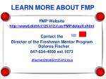 learn more about fmp