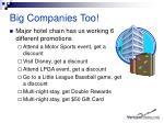 big companies too