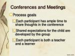 conferences and meetings31